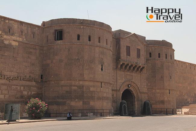 Entrada a la Ciudadela de Saladino