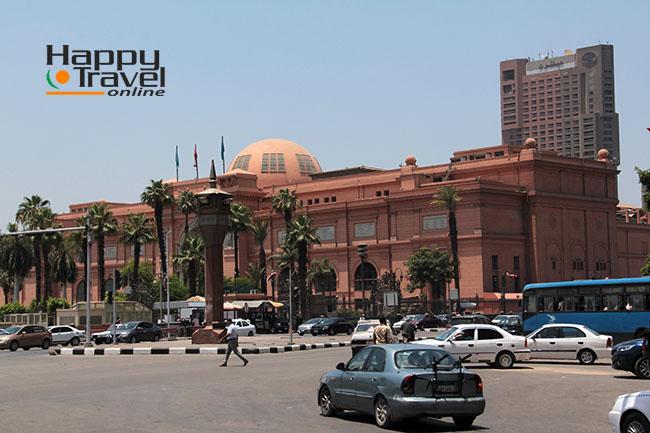 La famosa plaza Tahrir de El Cairo