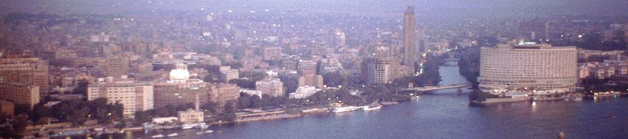 Panorámica de El Cairo