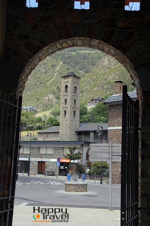 Iglesia románica de Canillo