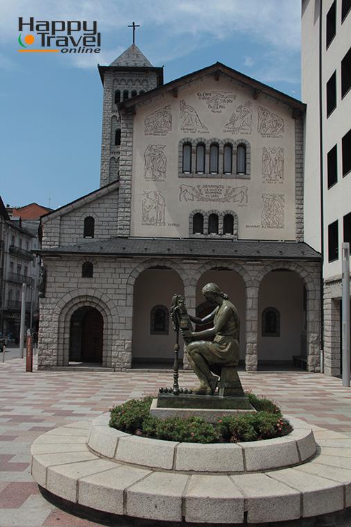 Iglesia en Escaldes