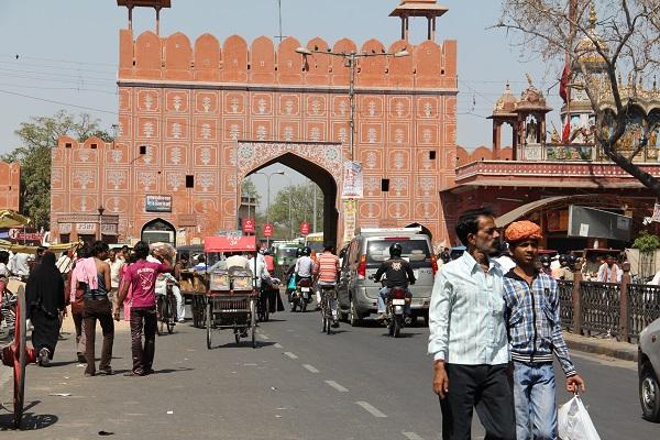 Jaipur la capital del Rajastan