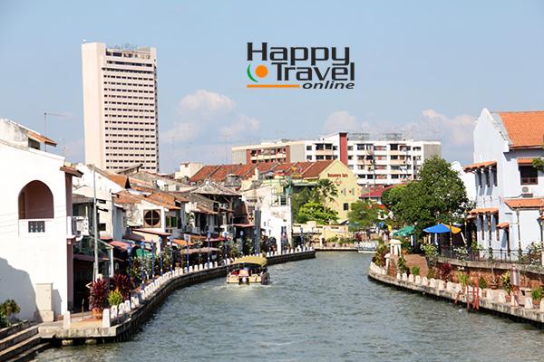La ciudad de Malacca