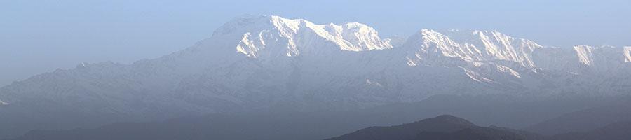 Himalaya imagen típica de Nepal