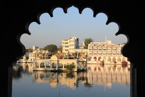 La ciudad romantica de la India
