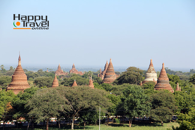 Tipicas imagenes de Bagan