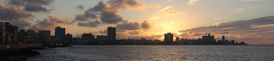 La Habana al atardecer