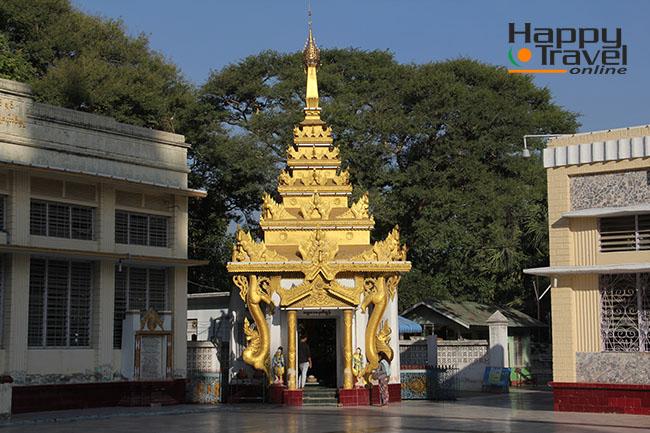 Imágenes de Mandalay, pagoda
