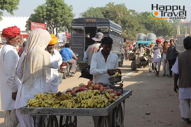 Imagenes de Pushkar durante la feria