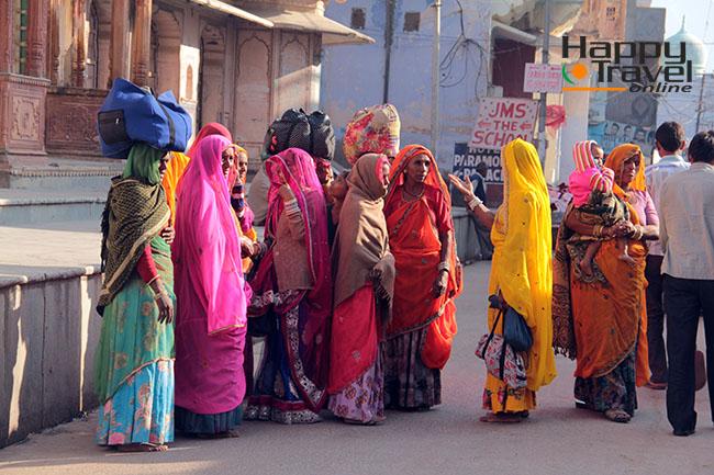 Pushkar durante la feria del camello