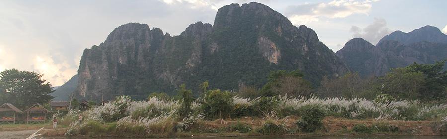 Paisaje de Vang Vieng