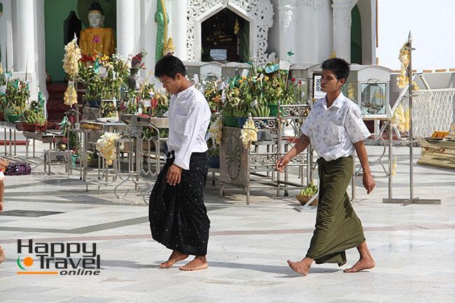 Una de las imagenes de Yangon
