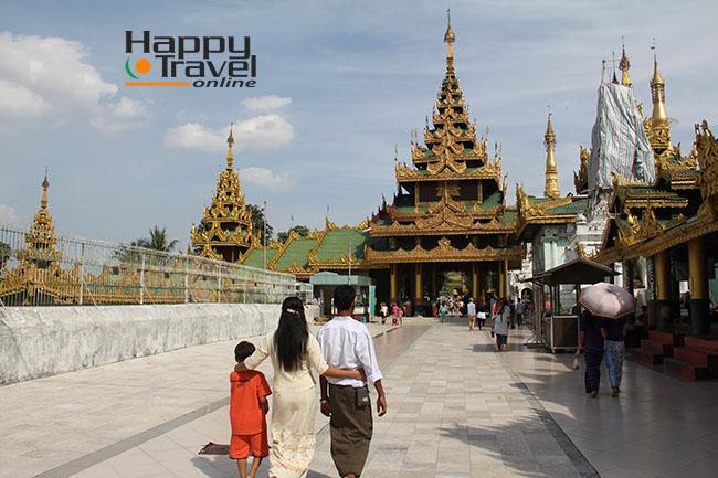 Tipicas imageenes de Yangon