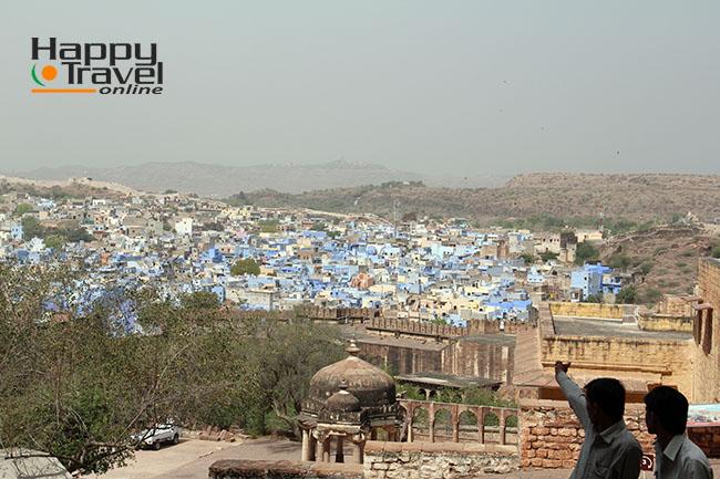 Imagenes de Jodhpur, la ciudad azul