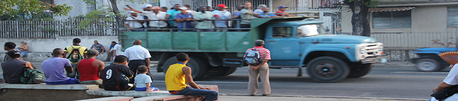 Imagen de las calles de Santiago de Cuba