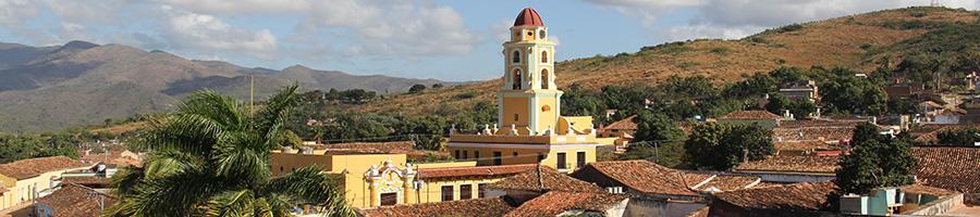 La ciudad de Trinidad en Cuba