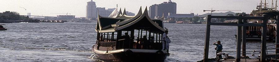 Imágenes de Bangkok navegando