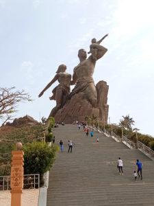 Gran monumento en Dakar