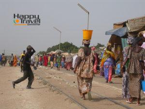 Mercado en Dakar