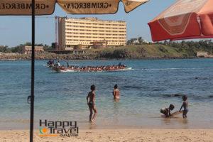 La playa de Dakar