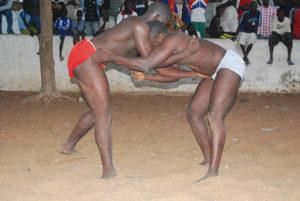 Lucha tradicional senegalesa