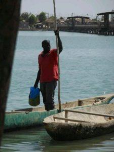 Un pescador