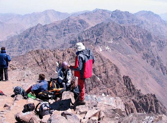 Trekking de alta montaña